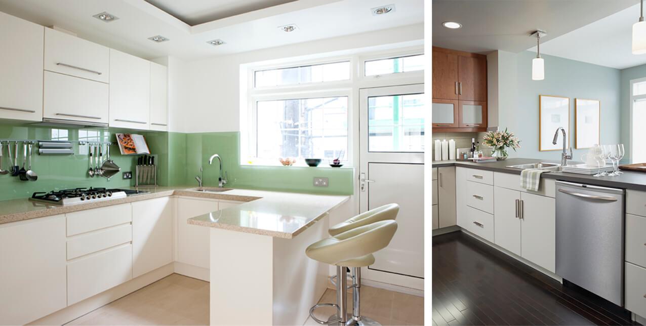 Kolor we wnętrzu  Munjo Design Studi -> Kuchnia W Kolorze Niebieskim